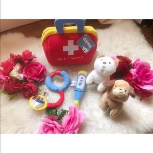My Lil' Vet Kit Playkit 5 Piece Plush Toy Set Gund
